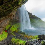 Seljalandsfoss - famous waterfall