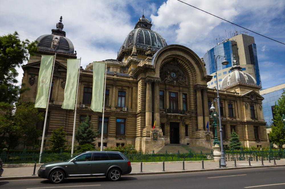 CEC Palace in Bucharest, Romania