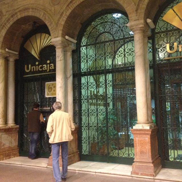 ATM Troubles in Seville, Spain