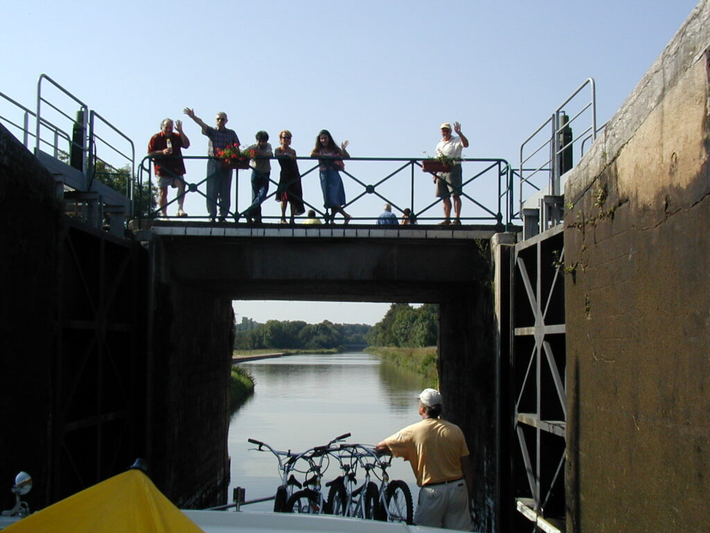Chartering a canal boat in France